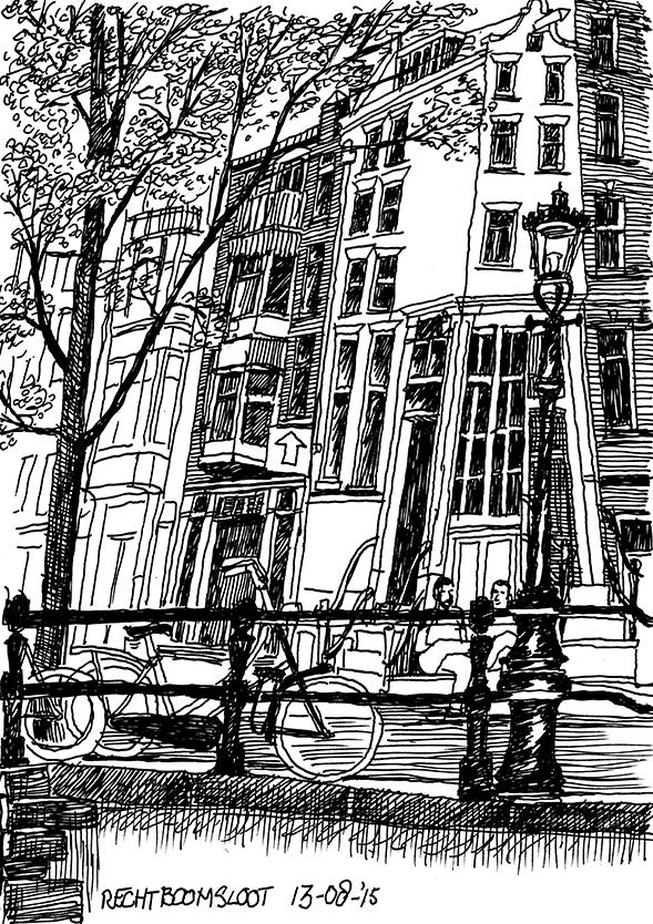 Rechtboomssloot Amsterdam- Peti Buchel