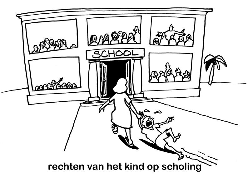 Rechten vh kind op scholing