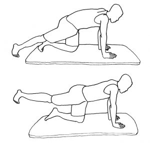 Oefening tegen rugpijn
