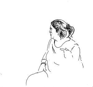 historische strip de tranen van Illigh Aisha Aboudmiaah in Agadir