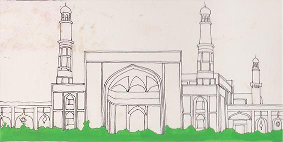 Moskee van Herat 1970